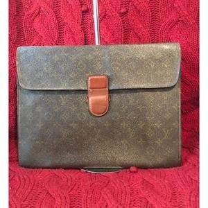 Louis Vuitton Document/Laptop Clutch vintage bag